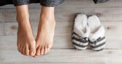 Domowe sposoby na odparzone stopy